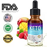 Lux Supplement Keto Shred Drops Liquid Advanced Carb Weight Loss - Raspberry Ketone Fat Burner Blended with African...
