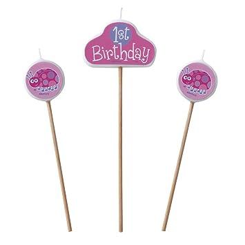 Unique - Velas de cumpleaños figurativas infantiles con ...