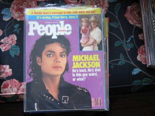 People Weekly (MICHAEL JACKSON, September 14 , 1987)
