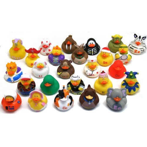 Fun Express ABCs Rubber Duckies