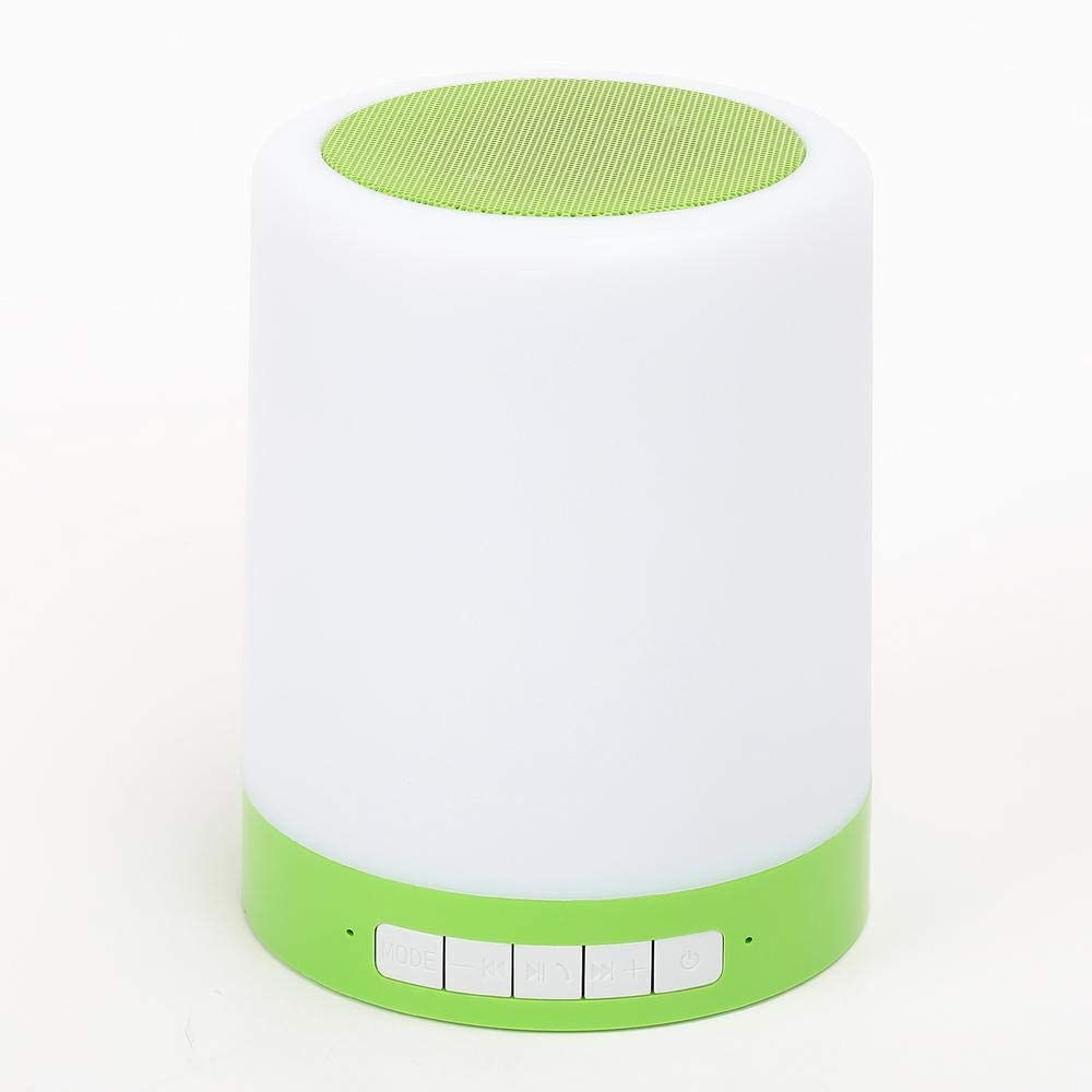 Bluetooth Multi-Color Touch Light Speaker