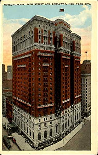 Hotel McLain, 34th Street and Broadway New York City, New York Original Vintage - And 34th Broadway Street