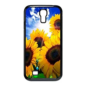 Yo-Lin case FXYL259063Sunflowers pattern protective case cover For SamSung Galaxy S4 Case
