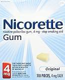 Nicorette Gum Original 4 Mg Kit Size 110 Count