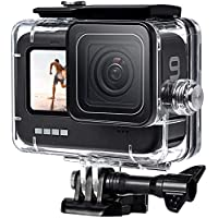FitStill 60M Waterproof Case for GoPro Hero 9 Black, Protective Underwater Dive Housing Shell with Bracket Accessories…