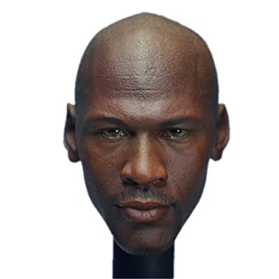 "HiPlay 1/6 Scale Afican American Male Figure Head Sculpt Series, Handsome Men Tough Guy , Doll Head for 12"" Action Figure Phicen, TBLeague, HT HS001(B): Toys & Games"