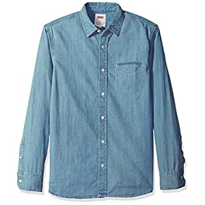 Levi's Men's Greg Classic Denim Button Down Shirt
