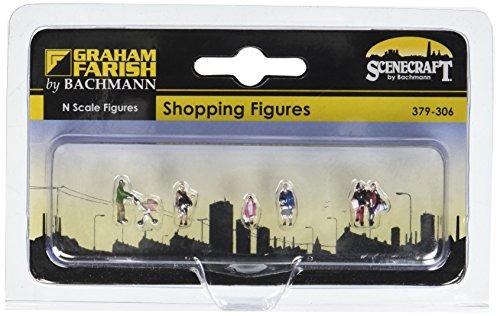 Bachmann Europe Graham Farish G379-306 Shopping Figures N Scale Model Train