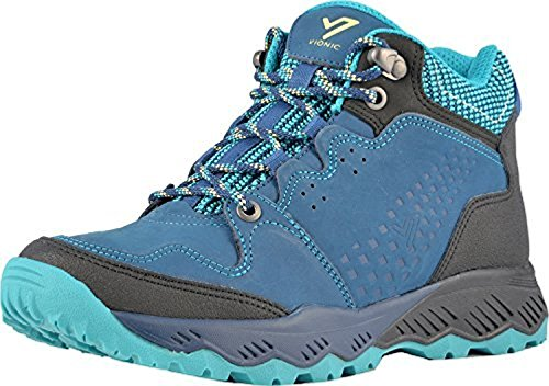Mid Hiking Vionic Everett Women's Top Shoes Navy Teal UEIITqr