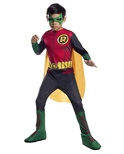 Horror-Shop Traje de Robin de Batman M: Amazon.es: Juguetes ...