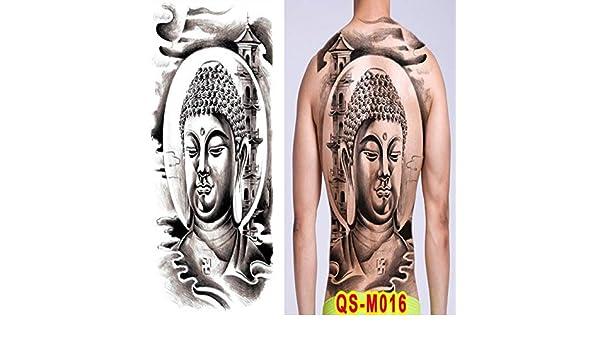 Handaxian 2pcs Hombres Tatuaje dragón Espalda Tatuaje Grandes ...
