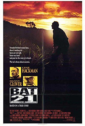 Bat 21 Poster Movie 27x40 Gene Hackman Danny Glover Jerry Re