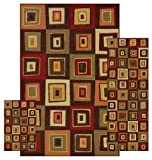 Dalyn Rug Stages 3-Piece Nylon Area Rug Set