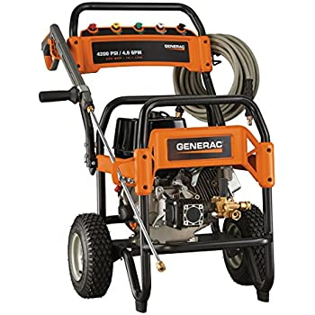 Generac 6565 4,200 PSI 4.0 GPM 420cc OHV Gas Powered Commercial Pressure Washer