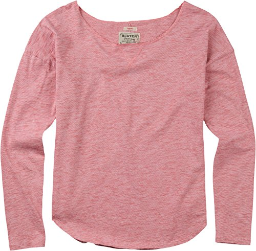 Burton Women's Holbrook Long Sleeve Sweater, Medium, Dusty Cedar Heather
