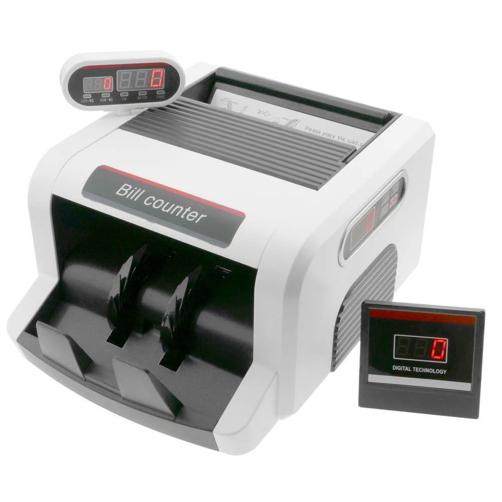 PrimeMatik - Contatore di Banconote con Doppio Display e rilevazioni UV MG1 MG2 PrimeMatik.com PN31031718200130573