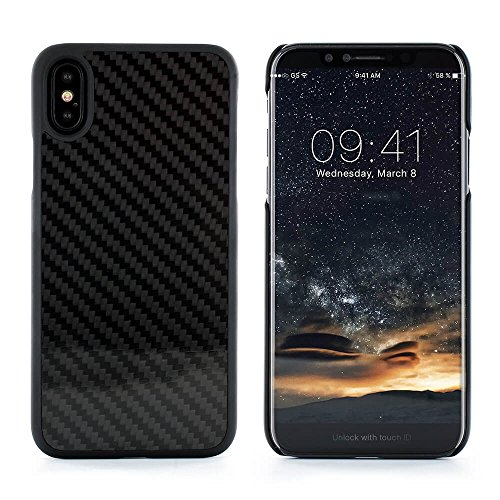 Official PROPORTA® Luxury Carbon-fibre Case / Cover for IPhone X - Carbon Ultra