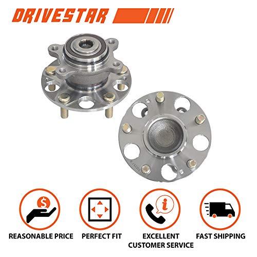 Brand New DRIVESTAR 512257x2 Pair:2 New REAR Wheel Hubs and Bearings for 06-11 Honda Civic LX GX DX