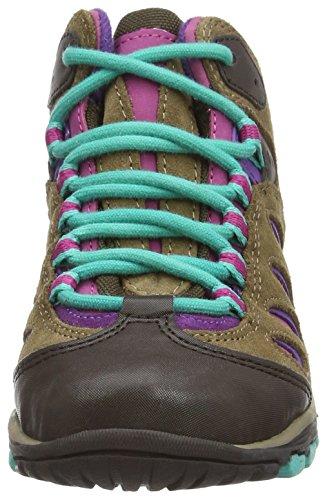 Merrell Reflex Mid Waterproof - Zapatos De Senderismo para hombre Brown Purple