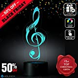 40 dollar steam gift card - Sol Key G-Clef Lighting Decor Gadget Lamp + Sticker Decor for Perfect Set, Awesome Gift (MT030)