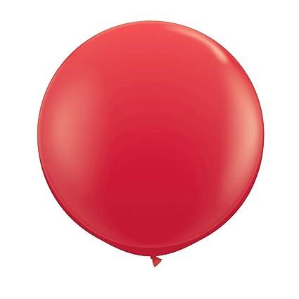 Globo de Cumpleaños - Rojo | Globo Gigante 90cm | Ornamentación ...