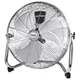 Impress 18 Iinch High Velocity Metal Fan- Chrome