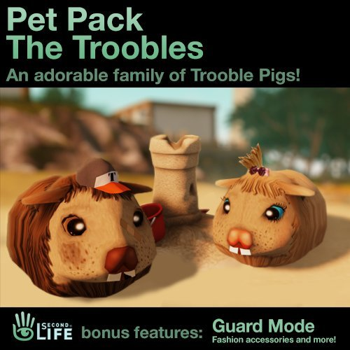 (Pet Pack - The Troobles: Second Life [Instant Access])