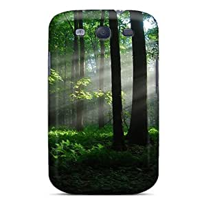 Flexible Tpu Back Case Cover For Galaxy S3 - Landscape Woods Nature