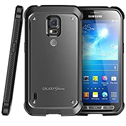 Samsung Galaxy S5 Active G870a 16gb Unlocked Gsm Extremely Durable Smartphone W 16mp Camera - Titanium Gray