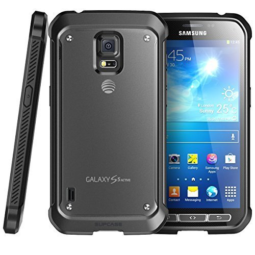 Samsung Galaxy S5 Active G870a 16GB Unlocked GSM Extremely Durable Smartphone w/ 16MP Camera – Titanium Gray