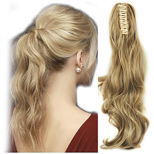 """Haironline Ponytail Extensions 18""""21"""" One Piece Claw Jaw Pon"""