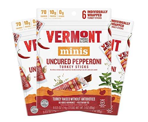 Amazon Com Vermont Smoke Amp Cure Mini Meat Sticks Beef