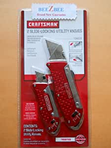 Craftsman Slide-Locking Utility Knives Set #94876