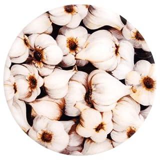 Andreas Silicone Trivet, Garlic, 8 Inch