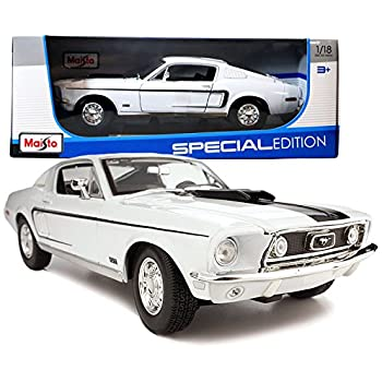 maisto year 2014 special edition series 118 scale die cast car set white