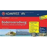 Bodenseeradweg mit Obersee, Untersee und Überlinger See: Fahrradführer mit 6 Tagesetappen, GPX-Daten zum Download und Routenkarten im optimalen ... 1:50 000 (KOMPASS-Fahrradführer, Band 6601)