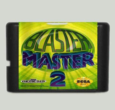 Taka Co 16 Bit Sega MD Game Blaster Master 2 - 16 bit MD Game Card For Sega Mega Drive For Genesis -