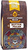 Christopher Bean Coffee Flavored Ground Coffee, Butter Pecan, 12 Ounce