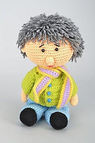 Crochet Toy Little Boy - Homemade Crochet