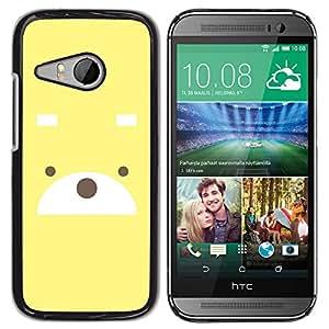 Paccase / SLIM PC / Aliminium Casa Carcasa Funda Case Cover - Cute Bear - HTC ONE MINI 2 / M8 MINI
