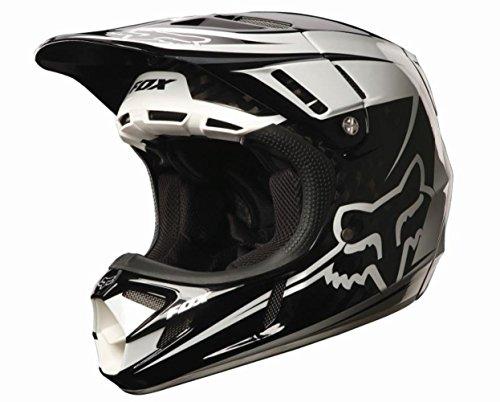 Fox Racing V4 Flight Carbon Helmet (Carbon, XX-Large)