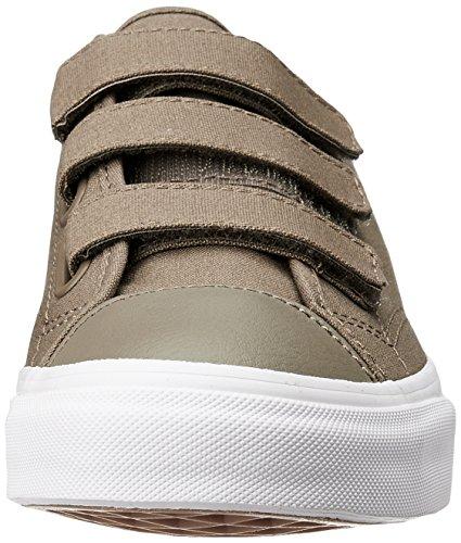 Bestelwagens Unisex Schoenen Stijl 23 V (canvas) Skate Sneaker Walnoot / True White