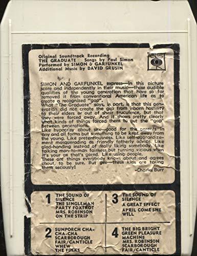 Anticuria Simon & Garfunkel: The Graduate, Original Soundtrack Recording - Import 8 Track Tape
