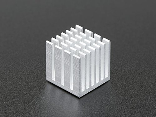 Adafruit Aluminum Heat Sink for Raspberry Pi 3 - 15 x 15 x..