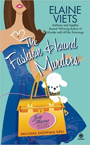 Image result for The Fashion Hound Murders by Elaine Viets