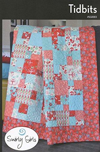 (Swirly Girls Tidbits Quilt Pattern Designs - 3 Sizes -)