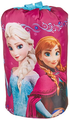 Disney Frozen Anna and Elsa Slumberbag, 30 X 54, Pink by Jay Franco (Image #2)