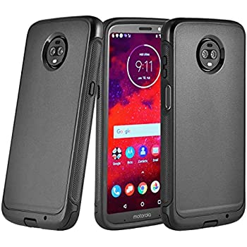 new style b7e32 472ab Amazon.com: OtterBox Commuter Series Case for Moto Z3 Play - Retail ...