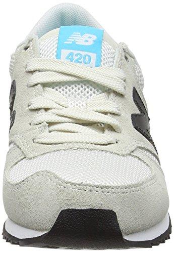 New Unisex Balance 420 Weiß Erwachsene Sneaker White qqU6rx