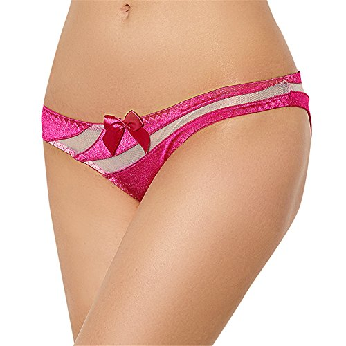 BQ Women's Lingerie Panties Plus Size Hollow out Mesh Insert Briefs Underwear